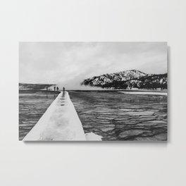 Grand Prismatic Spring Boardwalk, Yellowstone National Park Metal Print