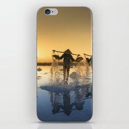 Vietnam Salt iPhone Skin