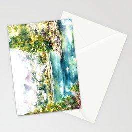 Sierra Peridot Stationery Cards