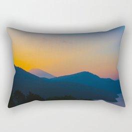Hakone Sunset Rectangular Pillow