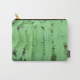 Fern Symmetry Carry-All Pouch