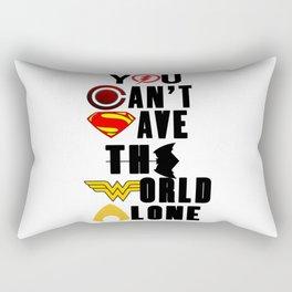 league justice Rectangular Pillow
