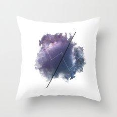Cosmic Jargon Throw Pillow