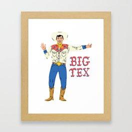 BIG TEX Framed Art Print