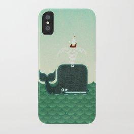 Whale, whale, whale... iPhone Case