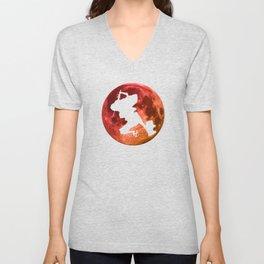 Anime Moon Inspired Shirt Unisex V-Neck