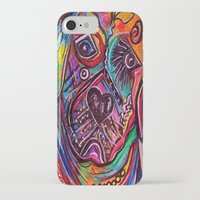 lab iPhone & iPod Cases featuring Lovable Lab by EloiseArt