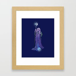 Moon Witch Framed Art Print