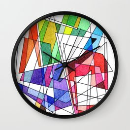 Abstract 10 Wall Clock