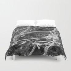 Abstract drift wood Duvet Cover