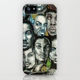 History of Rap 90s iPhone Case