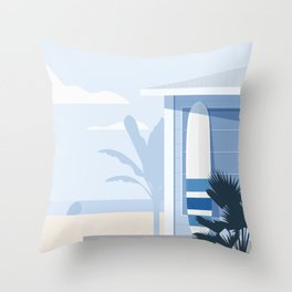 Seaside Nº 1 Throw Pillow