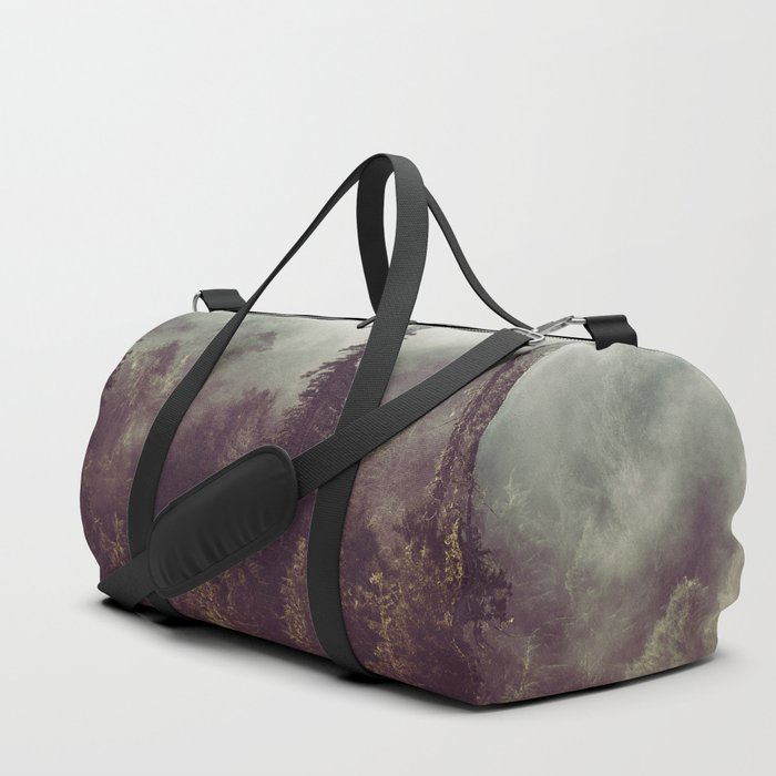 Mountain Morning Mist - Nature Photography Duffle Bag