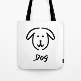 Dog Doodle Tote Bag