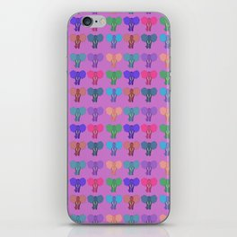 Pachiderms Of The Rainbow Nation iPhone Skin