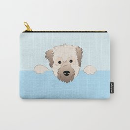 peeking pup. Carry-All Pouch