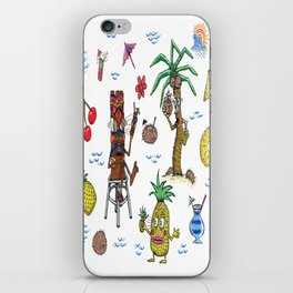 Cocktail Cannibalism iPhone Skin