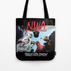 N.W.A (Nerds With Attitude) Straight Outta Comicon Tote Bag
