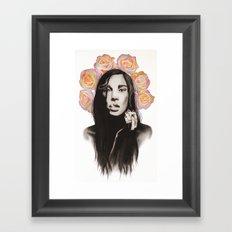 Natalia Framed Art Print