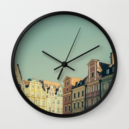 Wroclaw City Center Wall Clock