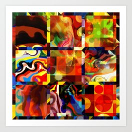 Recursive Windows Art Print