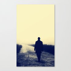Road less travel Canvas Print