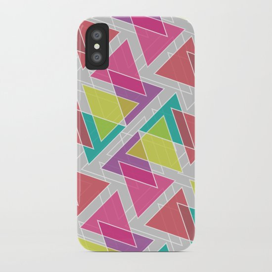 Let's Celebrate The Triangle iPhone Case