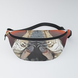Fly Face Insect Diptera Eyes Thorns Pincer Mouth Fanny Pack