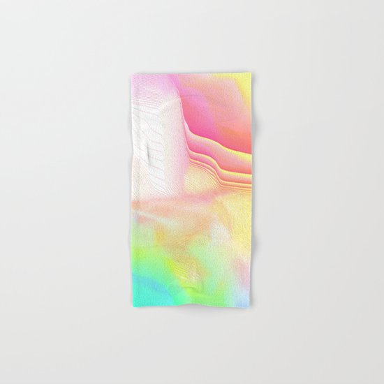 Pastel Pool Hallucination Hand & Bath Towel
