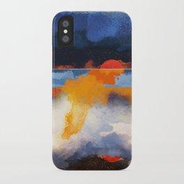 Dusk Reflection iPhone Case