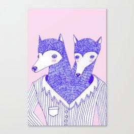 DECIDE Canvas Print