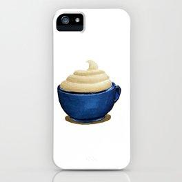 Mug with Whipped Cream iPhone Case