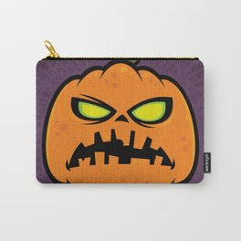 Pumpkin Zombie Carry-All Pouch