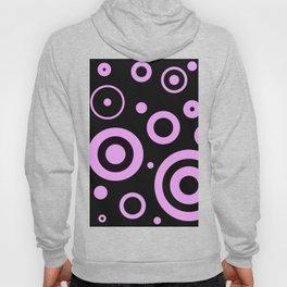 Modern abstract circles Hoody