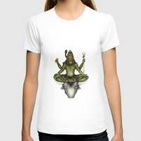 shiva T-shirts featuring Shiva by Slavena Peneva