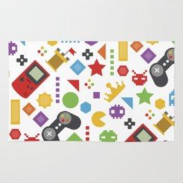 video game pattern Rug