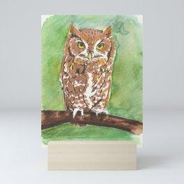 Little Owl Mini Art Print