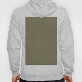 Dark Martini Olive Green Solid Color Pairs to Valspar America Jungle Thicket 6003-4C Hoody