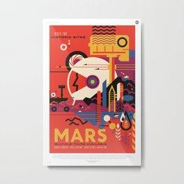 Mars Tour : Space Galaxy Metal Print