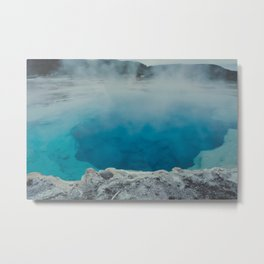 Sapphire Pool. Yellowstone National Park. Wyoming. USA. Metal Print