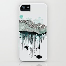 Don't let it go to waste iPhone Case