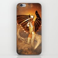 angel iPhone & iPod Skins featuring Angel by nicky2342