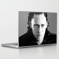 tom waits Laptop & iPad Skins featuring TOM by THE USUAL DESIGNERS