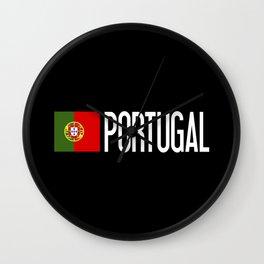 Portugal: Portuguese Flag & Portugal Wall Clock