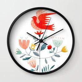 Brilliant Bird Wall Clock