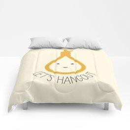 Let's Hangout Comforters