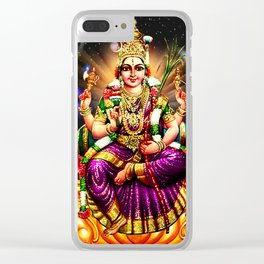 Goddess Power Clear iPhone Case