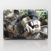 animal skull iPad Cases featuring Animal Skull by CJ Thornburg