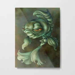 Bad Fish Metal Print