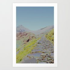 Chromascape 16 (Snowdon) Art Print